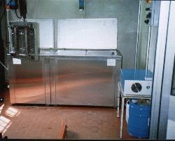 lavatrici ad ultrasuoni per stampi